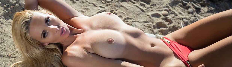 Lovely Red Bikini