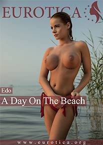 Adorable Edo looks incredible hot while enjoying a day on the beach.