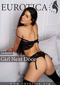 Dolores may look like an innocent girl next door, but under the surface she's really naughty.