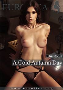 Nothing warms you up on this cold autumn day like Christonia's sizzling hot photo set.