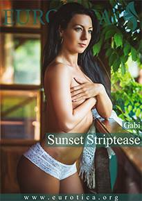 Enjoy a sunset striptease from Gabi.
