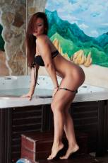 The jacuzzi has never been as hot as it is when Tamia is there.